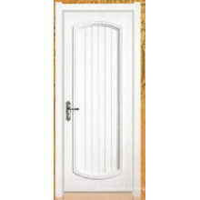 Puerta de pintura de chapa de madera (006)