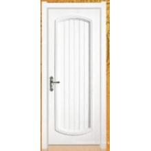 Porta de pintura de folheado de madeira (006)