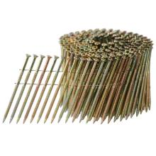 Manufacturer for for China Leading Galvanized Steel Nails, Zinc Galvanized Roofing Nails, Square Boat Nails, Common Nails, Roofing Nails, Framing Nails, Concrete Nails Factory 15 Degree wire coil nails supply to Spain Manufacturers