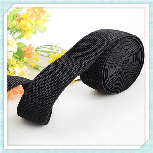 Colorful woven elastic tape