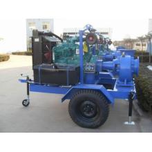 Горизонтальные многоступенчатые дизельный двигатель воды насос комплект