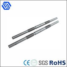 Edelstahl-Rod-kundenspezifisches Stahlmetall, das CNC-Maschinenteil dreht