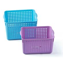 Пластиковая корзина для хранения прямоугольного прямоугольника