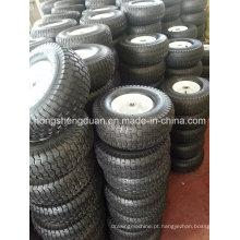 Roda pneumática 15 * 6.00-6 com bom preço usado para o carrinho de mão de roda