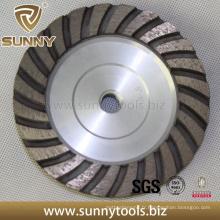 Professionnel Sunny haute qualité diamant meulage Turbo tasse roue