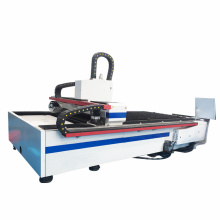 máquina de corte por láser de fibra de metal cnc
