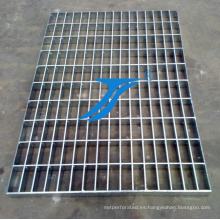 Reja de acero de estilo simple utilizada en la cubierta de la zanja