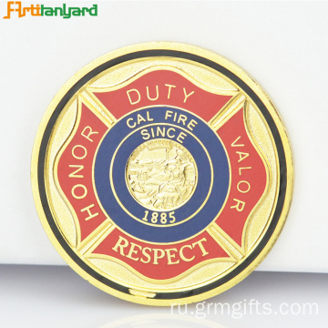 Precious Metal Coins With Soft Enamel