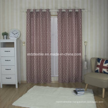 Polyester Linen Like Jacquard Curtain Fabric