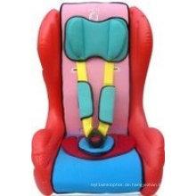 Aufblasbare Kinderauto-Aufladungs-Sitze mit weichem Sicherheitsgurt