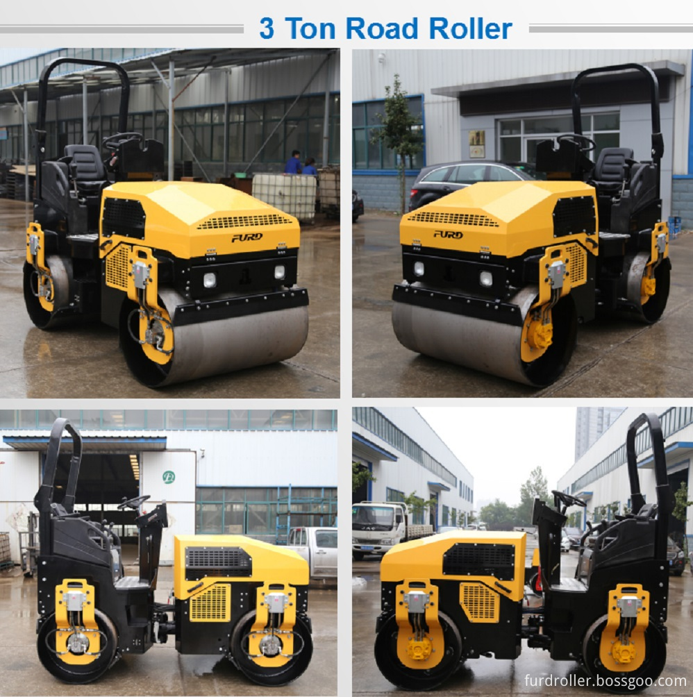 Combination Road Roller Compactor