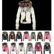 Women's Down Jacket Winter Long Coat Big Fur Collar
