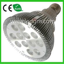 24W 6000K Médio PAR38 Base estreita inundação lâmpada LED pode ser escurecido