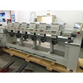 6 Head Embroidery Machine for Cap T-Shirt Finished Garments Wy906/1206c