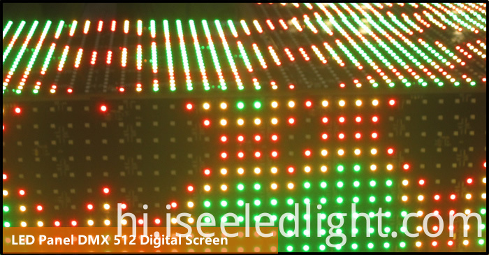 64 leds DMX 512 LED Panel Light