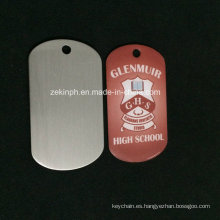 Customzied Stainless Steel Cmyk Offset Printing High School Dog Tag for Souvenir