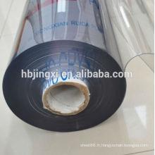 feuille claire superbe claire de PVC de PVC / feuille molle de PVC, feuille claire de PVC