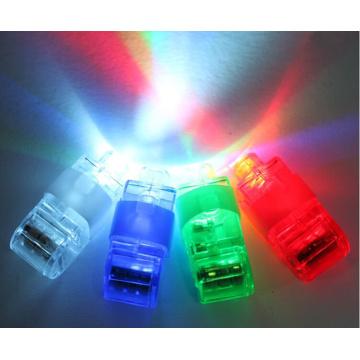 Children mini bright led finger lights for toys