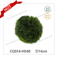 D14cm Outdoor Extension Cord Green Artificial Christmas Decoration