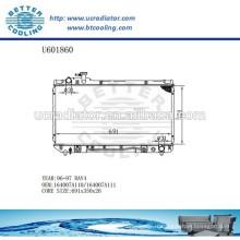 RADIATOR 164007A110 / 164007A111 pour TOYOTA 96-97 RAV4 Fabricant et vente directe!