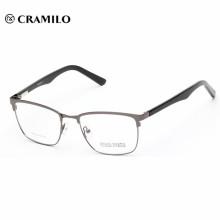 China al por mayor francés metal marcos ópticos cobre marco gafas