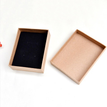 Customized top-quality Kraft Paper Necklace Box