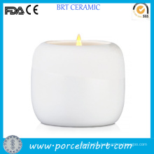 Cheap White Ceramic Candle Jar for Sale