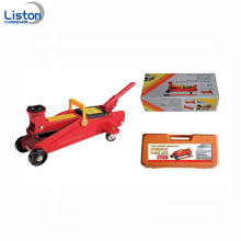 High quality hydraulic floor jack with carrying case