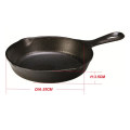 Best Selling Classical Pre-seasoned Cast Iron Skillet with Loop Handle