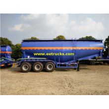 3 ejes 35-60cbm Bulk Powder Tank Trailers