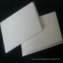 Placa de fibra mineral de jateamento de areia (design 3D e espessura)