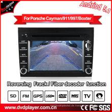 Auto GPS Navigation für Porsche Cayman / 911/997 Andriod System MP4 Player DVB-T Tuner