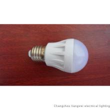 E27 LED light bulb, PC housing, 3W White Color, CE & RoHs