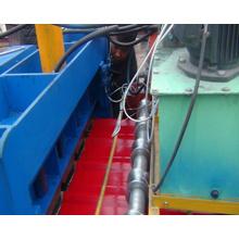 Machine de formage de carreaux de tuiles en tôle d'acier Dx 840