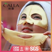 Máscara de gel de ouro 24k rótulo privado para anti-envelhecimento