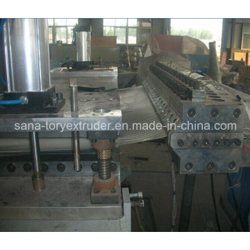 Unbeatable Price for Plastic PVC Wave Board Extrusion Production Line