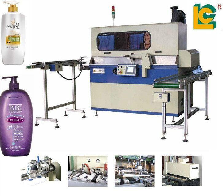 PLC control full-automatic uv Screen printing machine for sale