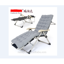 Brand new single folding metal bed and chair/beach Lounge chair