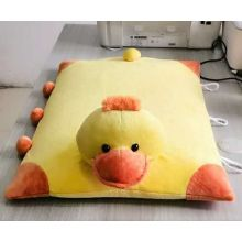 Lovely square yellow ducklings flat pillow mat