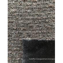 Knitted Bonded Rabbit Hair Esfh-1038-5