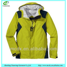 Outdoor clothing fashion windbreaker mens jacket
