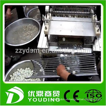 máquina desgranadora de huevos de codorniz automática completa y hecha de acero inoxidable fácil de limpiar