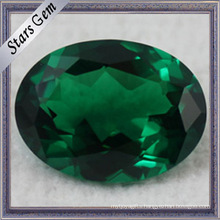 Round Green Loose Gemstone Nano Spinel Synthetic Spinel