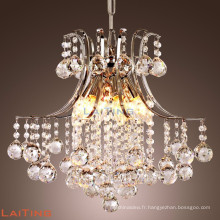 Acrylic crystal diamond chandelier restaurant led lighting 71051