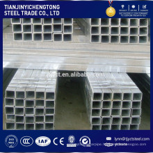 pre galvanized square pipe / rectangle steel pipe and tubes