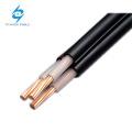 XLPE isolé et câble d'alimentation CVD CVT gainé par PVC 0.6 / 1kV