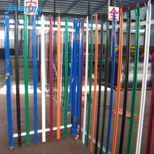 Factory Euro Style PVC Coated Palisade Fence for Sale