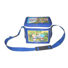 Little Square Clear Pvc Satchel Bags With Cartoon Design For Kids