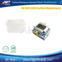 Plastic injection crate mould