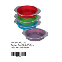 Silicone redonda bolo Pan